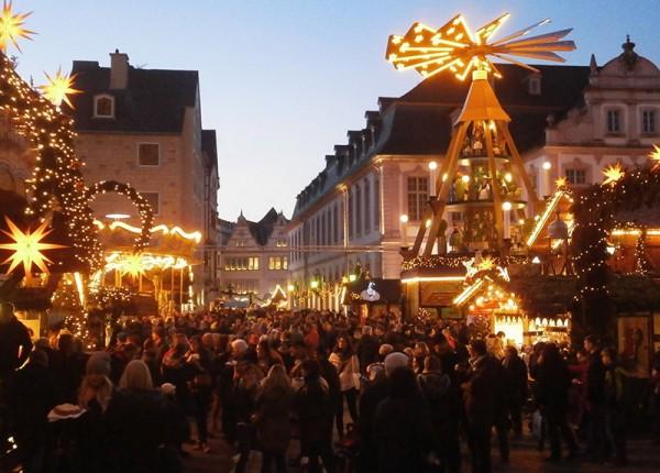 So sah es vor genau einem Jahr auf dem Trierer Weihnachtsmarkt aus. Archiv-Foto: Christian Jöricke