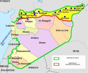 Die Region Rojava im syrisch-türkischen Grenzgebiet hat seit 2012 mehr als 1,2 Millionen Flüchtlinge aufgenommen.