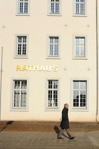 """""""Ich habe versucht, mir treu zu bleiben"""", sagt Klaus Jensen über seine Zeit als Oberbürgermeister. Fotos: Marco Piecuch"""